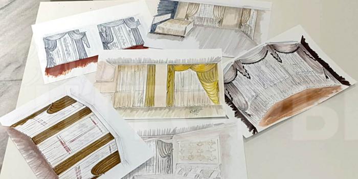 Проект текстильного оформления