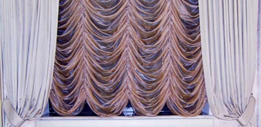 Французские шторы на заказ в салоне Еврошторы
