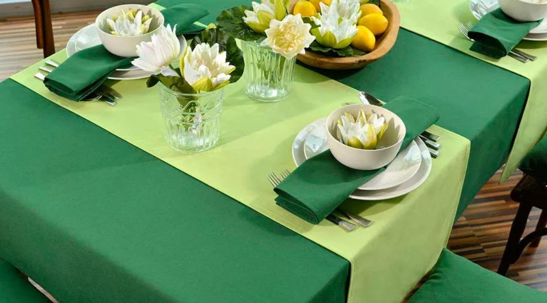 Ткани для пошива скатертей для кафе и ресторанах