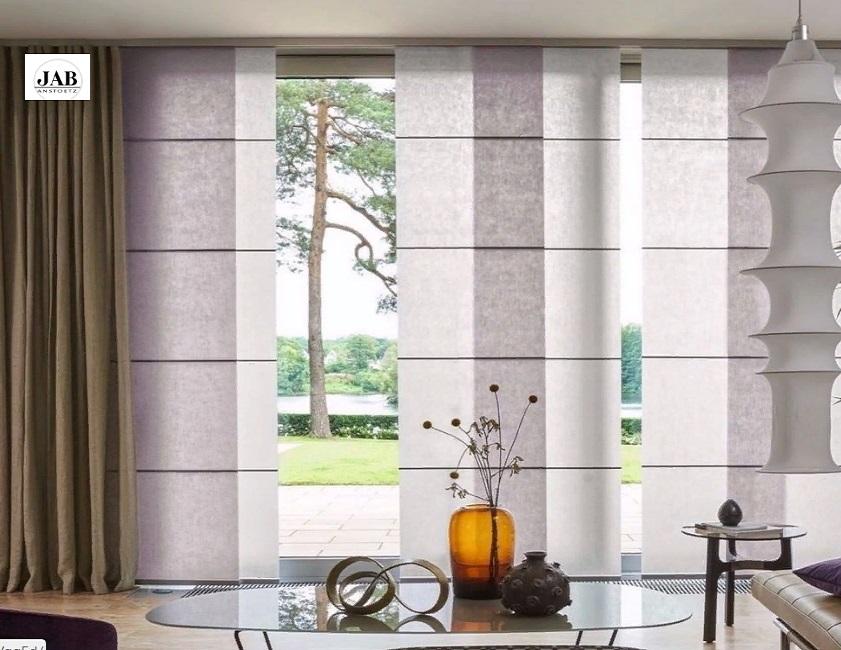 Дизайнерские римские шторы из тканей JAB
