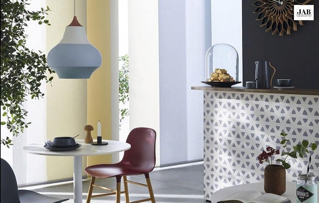 Оформление окон в современном стиле в кухне и столовой