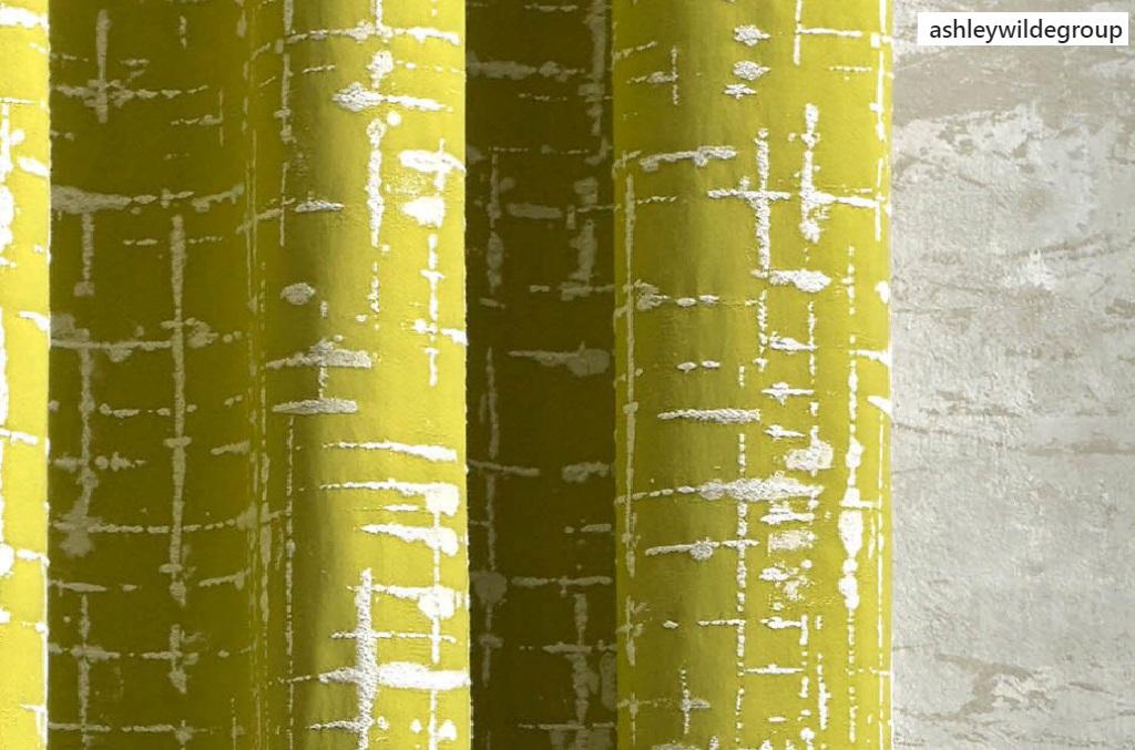 Природные тона в дизайне штор