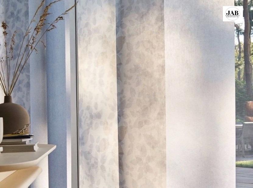 Варианты дизайны штор для кухни из тканей JAB