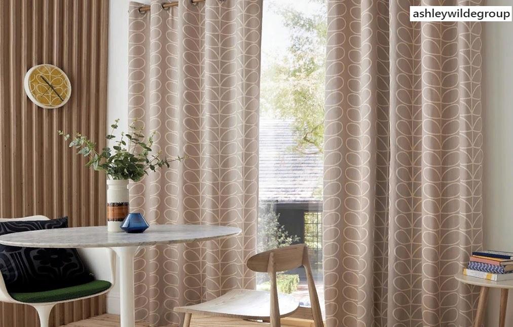 Портьеры и шторы для ресторана и кафе из тканей Ashley Wilde