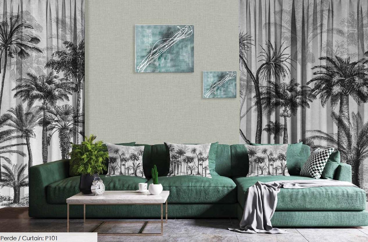 Текстильное оформление в дизайне дома