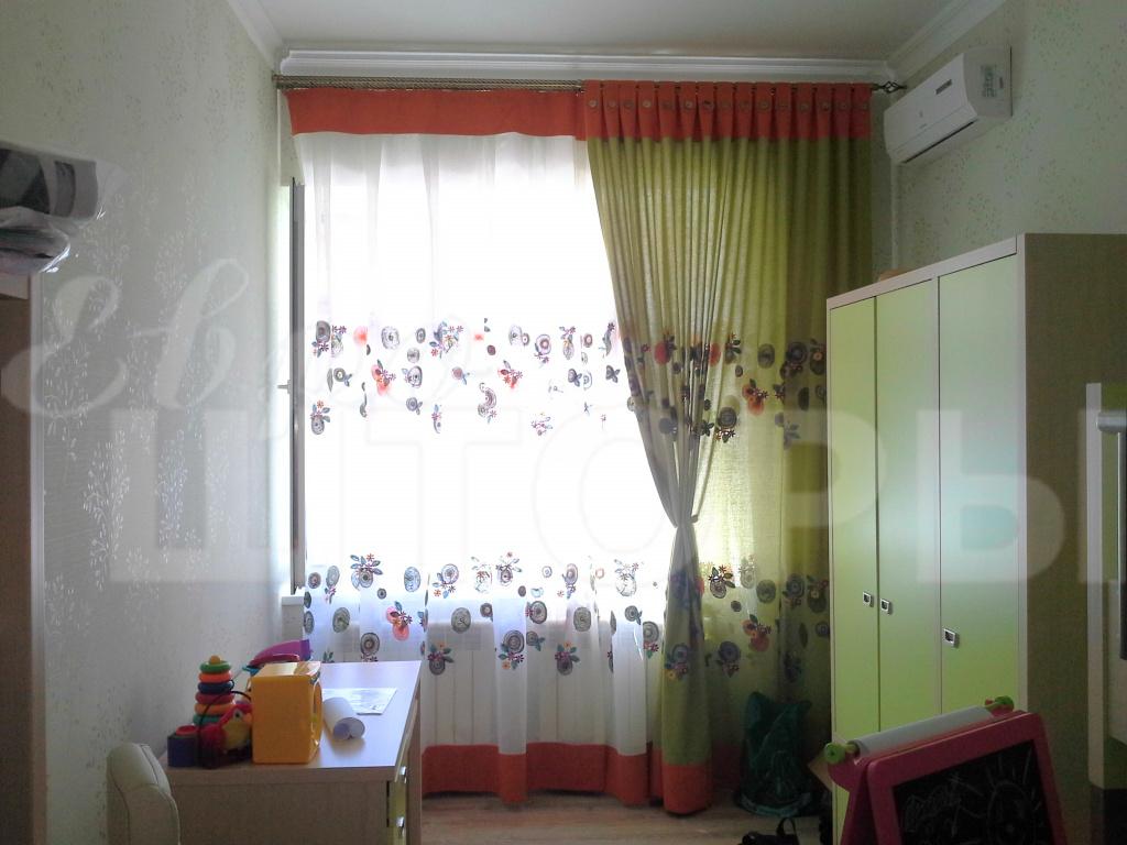 дизайн детских штор на окна