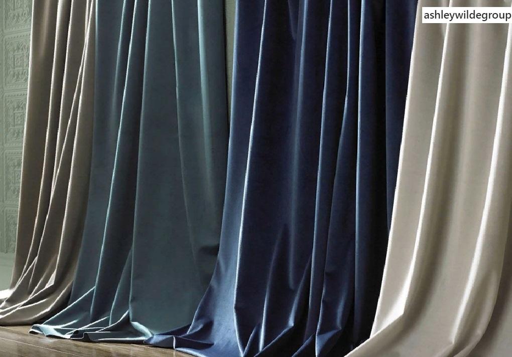 Подходящая ткань для штор в офисе