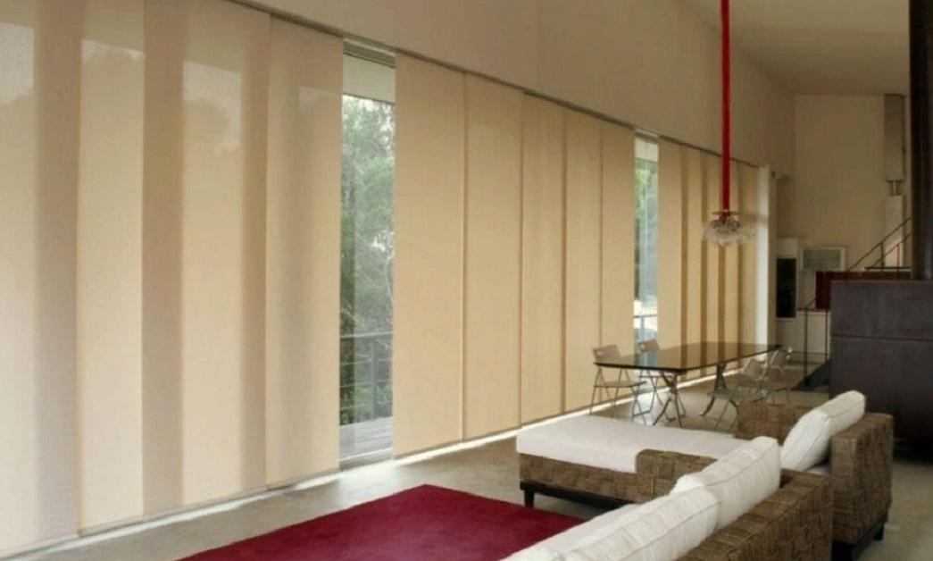 Японские шторы для минималистского дизайна