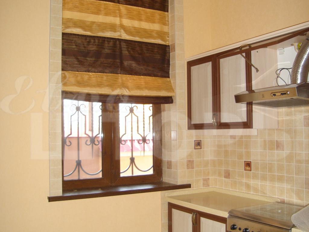 пошив кухонных штор на заказ