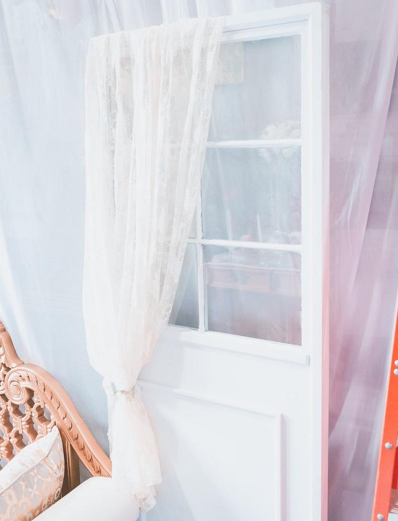 пошив штор на двери